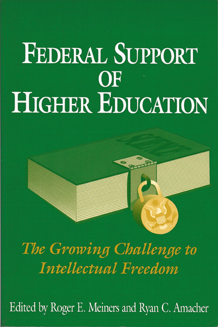 Federal Support of Higher Education