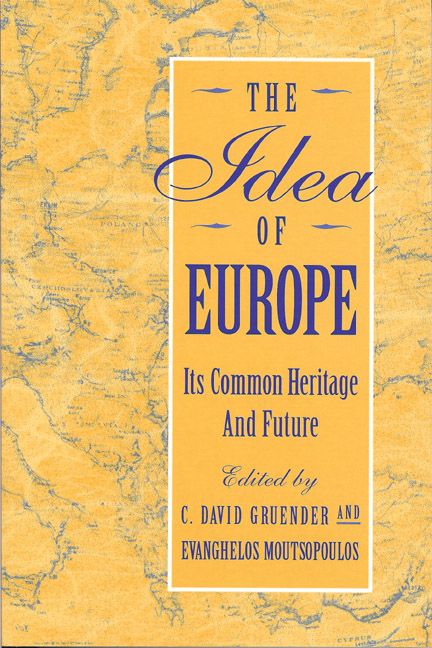 Idea of Europe, The: Its Common Heritage and Future