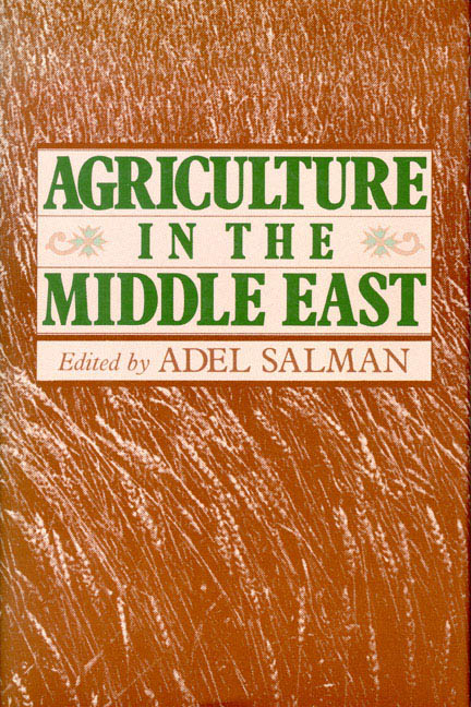Agriculture in the Middle East