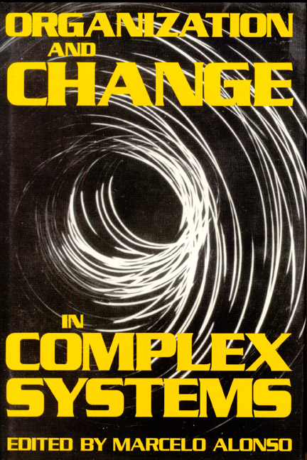 Organization and Change in Complex Systems