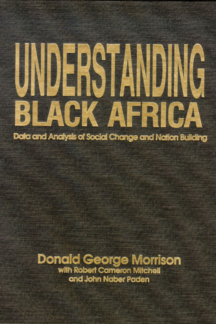 Understanding Black Africa: Data and Analysis