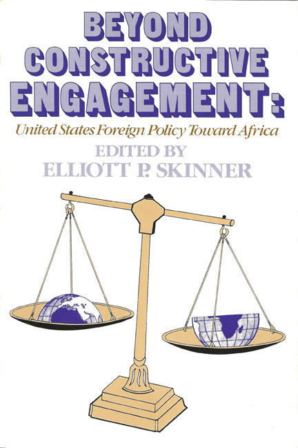 Beyond Constructive Engagement: US Policy Toward Africa