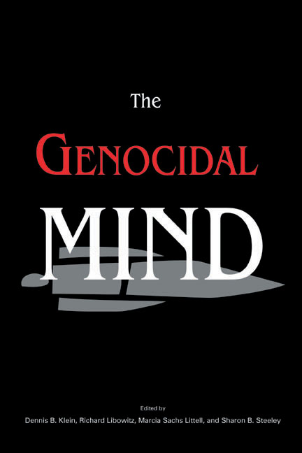 Genocidal Mind, The